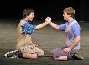 blood brothers mickey and edward meet